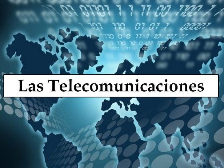  La telecomunicación es una técnica que consiste en la  transmisión de señales electromagnéticas a distancia, desde  un p...