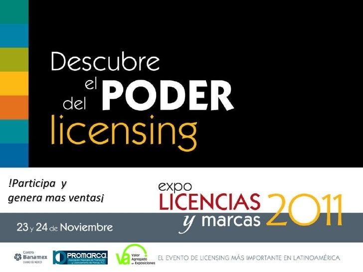 Presentación Expo Licencias y Marcas 2011