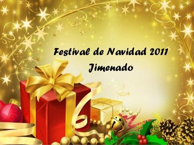 Festival de Navidad 2011 Jimenado