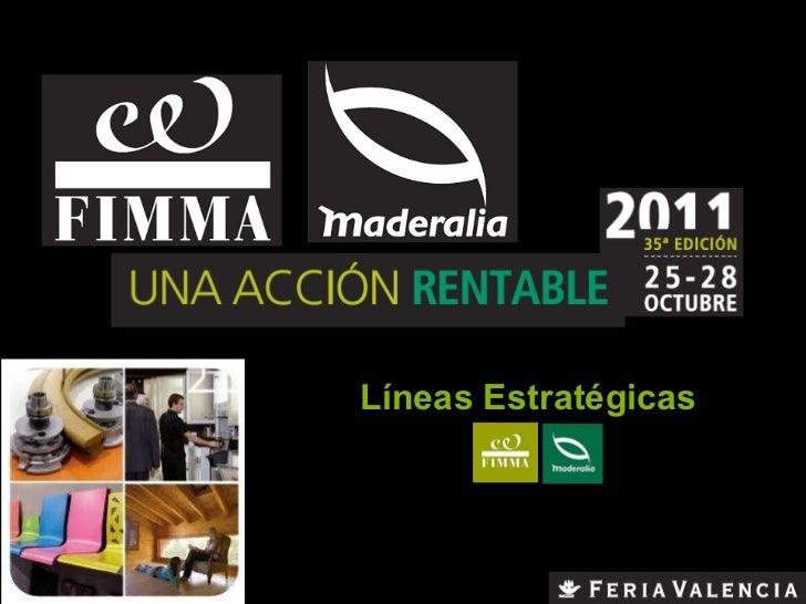 Presentación prensa FIMMA MADERALIA