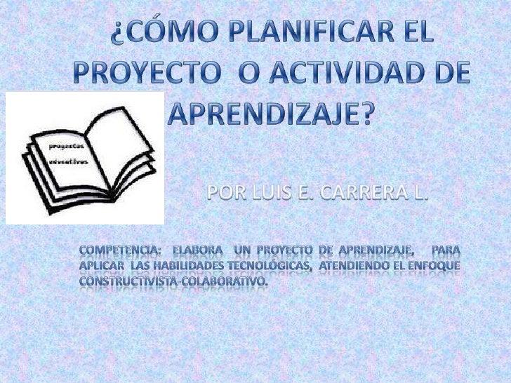El proyecto tiene 4 partes o archivos         FUNDAMENTALES     Ficha técnica                      Presentación Pptx      ...