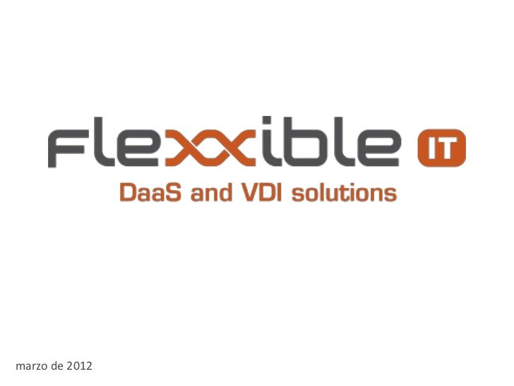 DaaS and VDI solutions