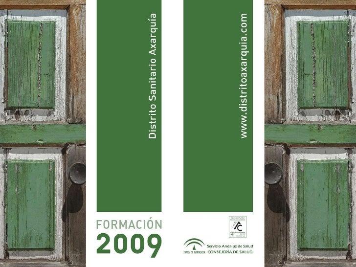 Presentacion Plan Formacion 2009