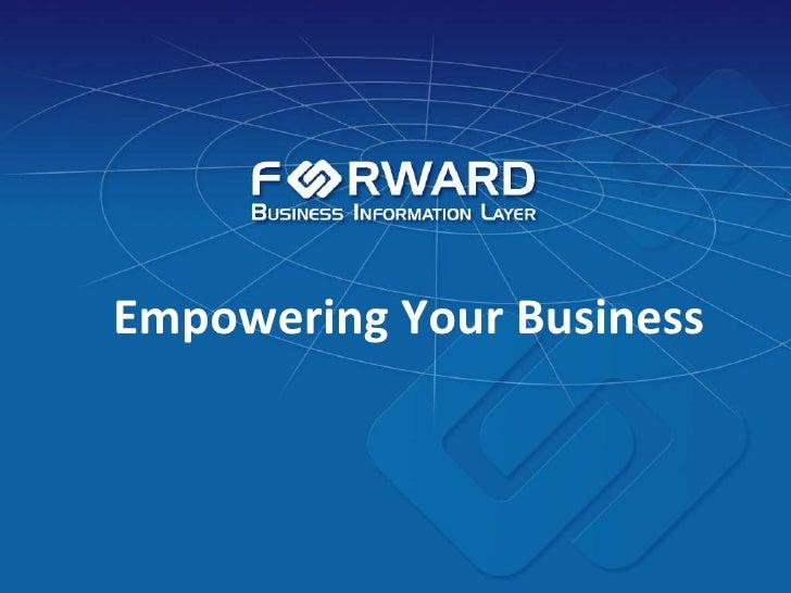 PresentacióN Forward 2009v5 (English)