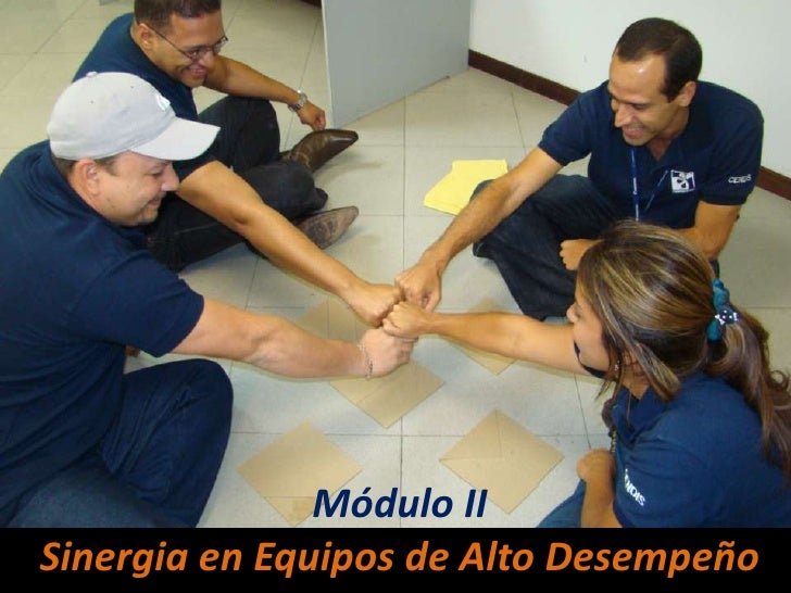 Módulo II<br />Sinergia en Equipos de Alto Desempeño<br />