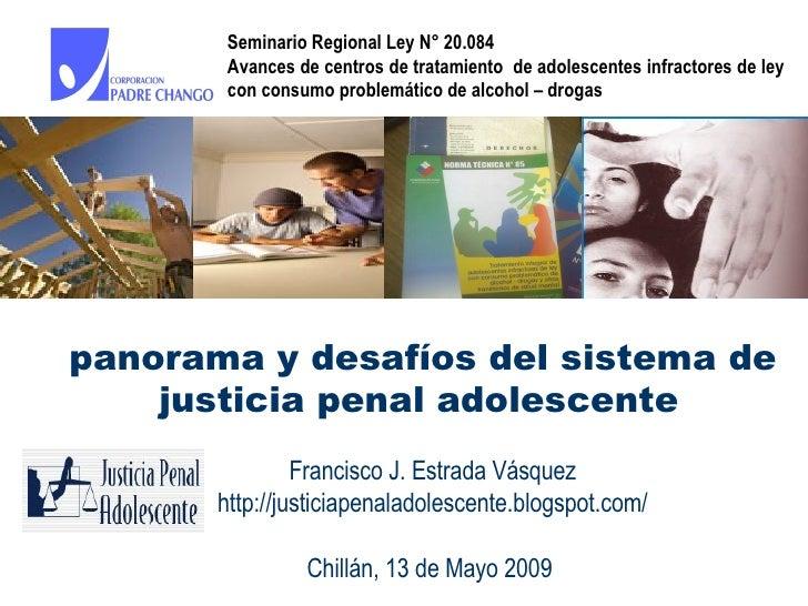 PresentacióN Francisco Estrada En Seminario Chillan CorporacióN Padre Chango