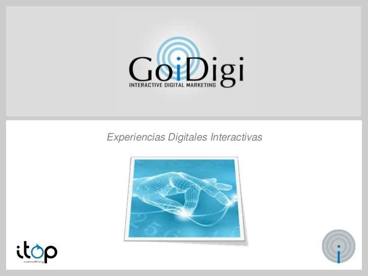 Presentación Go!iDigi 2012