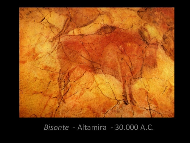 Bisonte - Altamira - 30.000 A.C.