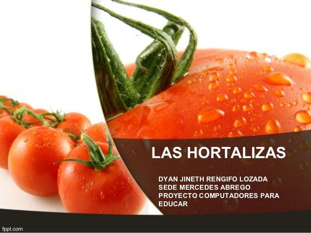 Presentación hortalizas
