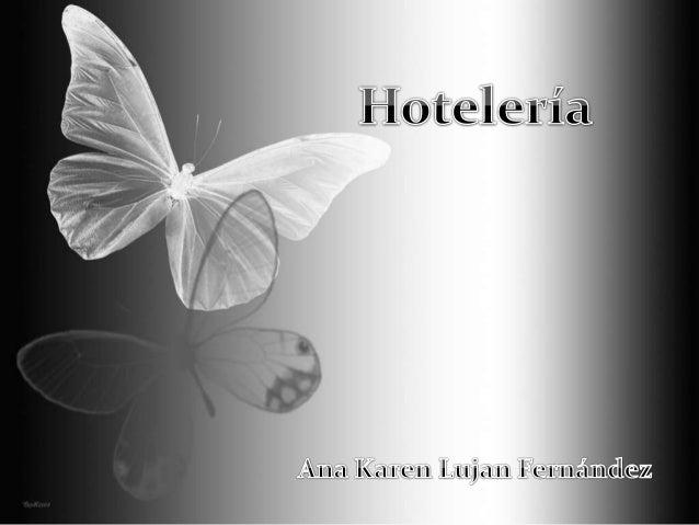 Presentación hoteleria