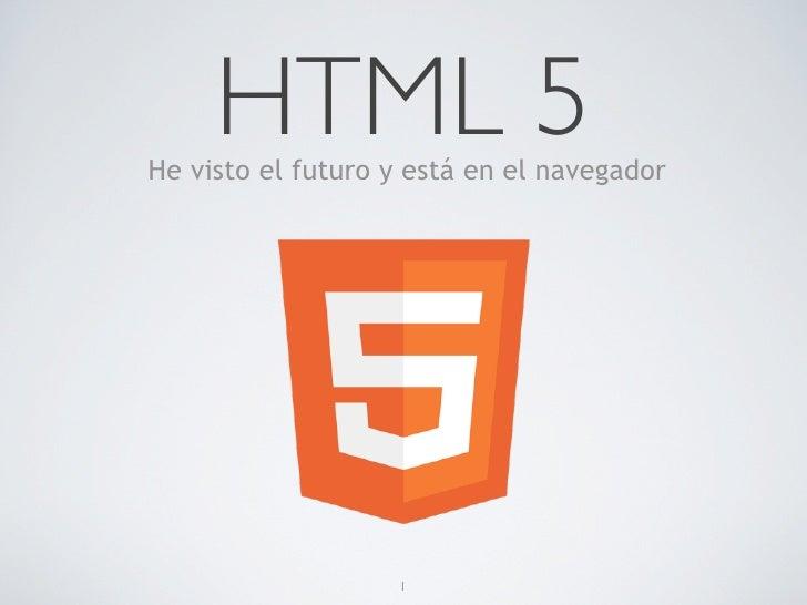 Presentación html5