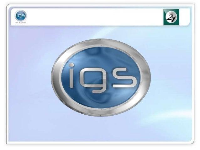 Presentación IGS Juegos Serios y Gamificacion   copia