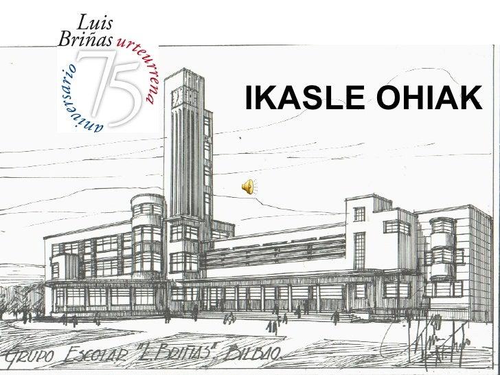 Luis Briñasko Ikasle Ohiak