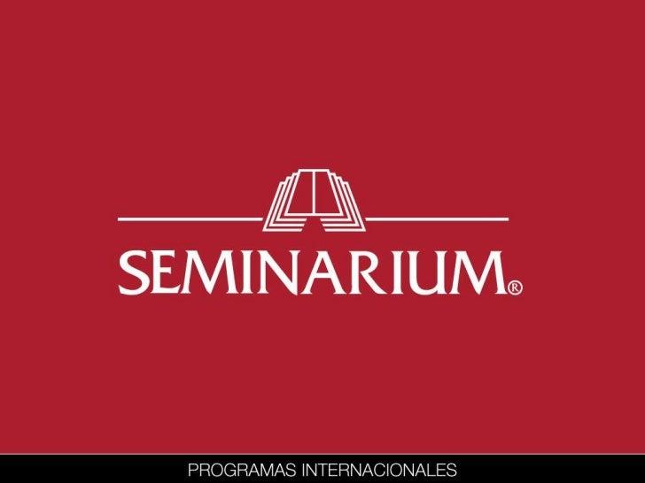 Programas In-Campus 2012