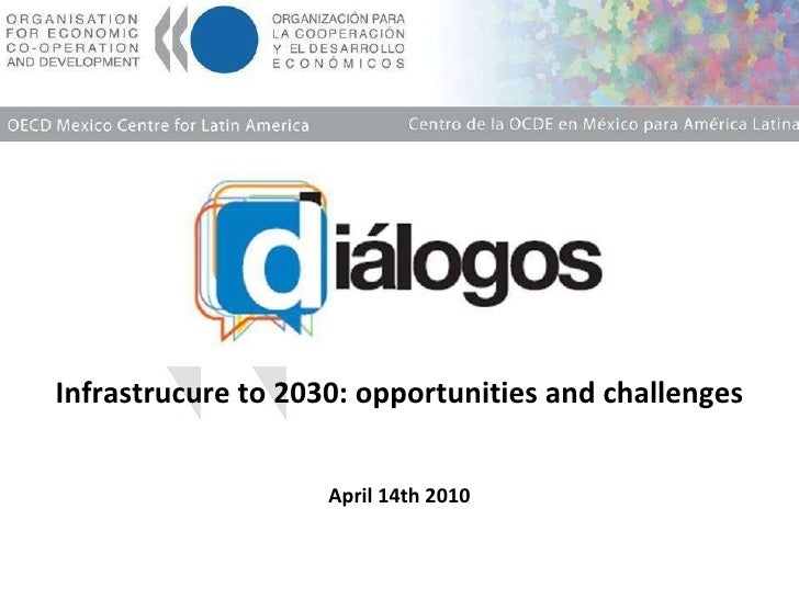 Infrastructure to 2030 opportunities and challenges