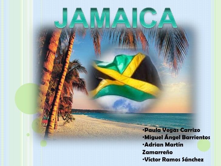 Presentacióningles jamaica