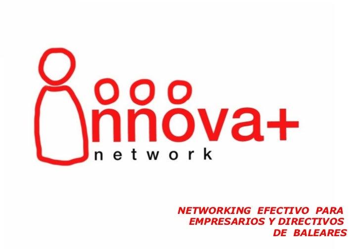 Presentación Innova+ Network