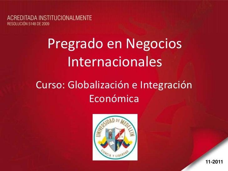 Presentación institucional caso mercosur