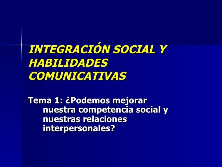 PresentacióN Integracion Tema 1 Urjc