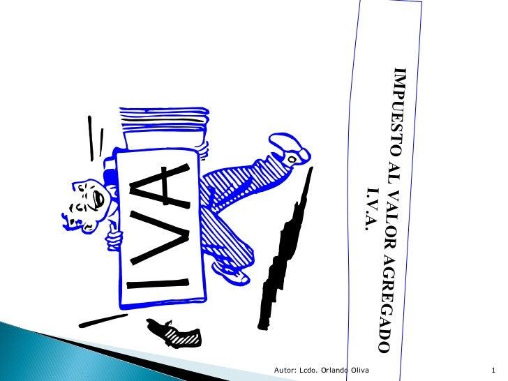 Presentación iva 2012