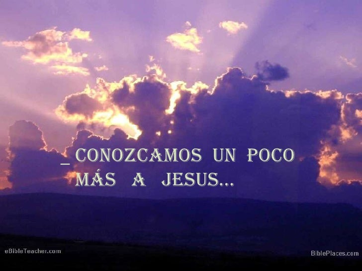 ¿ Quien es Jesus  ?