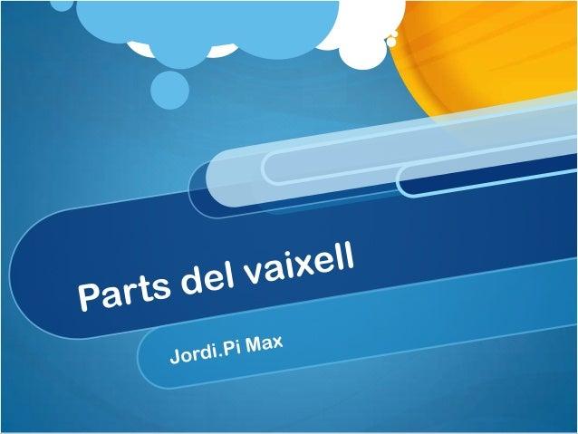 Presentación jordi i max
