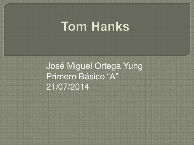 """José Miguel Ortega Yung Primero Básico """"A"""" 21/07/2014"""
