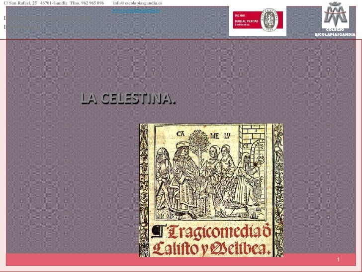 PresentacióN La Celestina