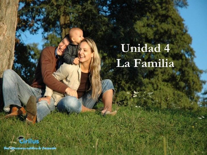 Presentación La Familia