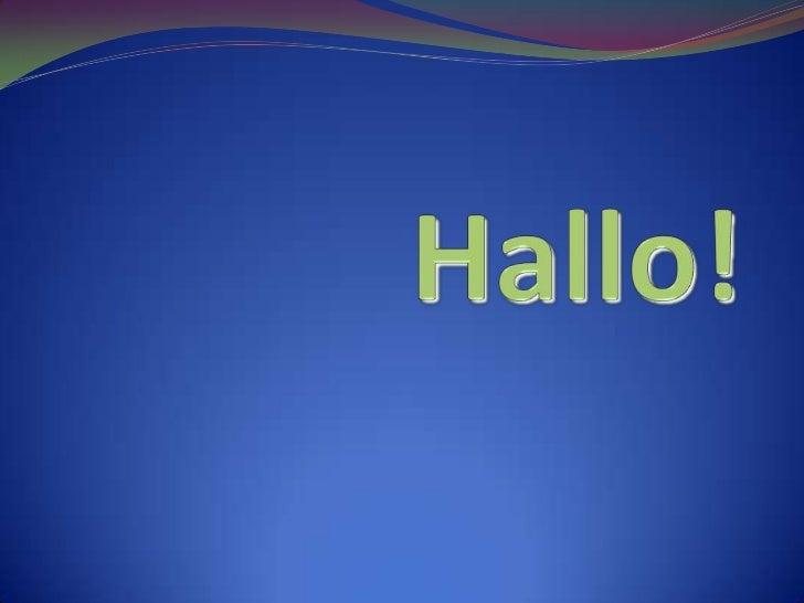 Hallo!<br />
