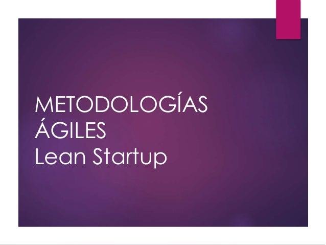 Presentación lean startup para curso de certificado de profesionalidad de creación de empresas