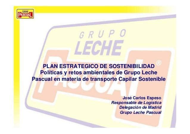 sep-10 pág. 1 La calidad y tu salud, nuestra razón de ser Plan de movilidad y transporte capilar sostenible PLAN ESTRATEGI...