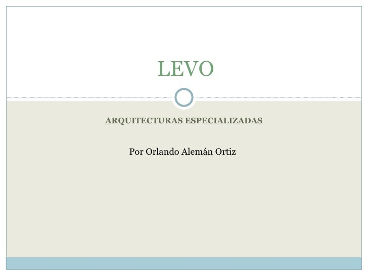 LEVO: A resource flow computer