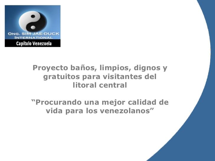 Imagen De Baño Limpio:Proyecto Baños Limpios
