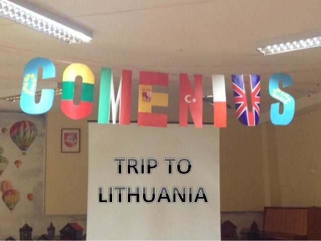 CAPITAL: VILNA – VILNIUS                           LUGARES PARA VISITAR - PLACES TO VISIT                                 ...
