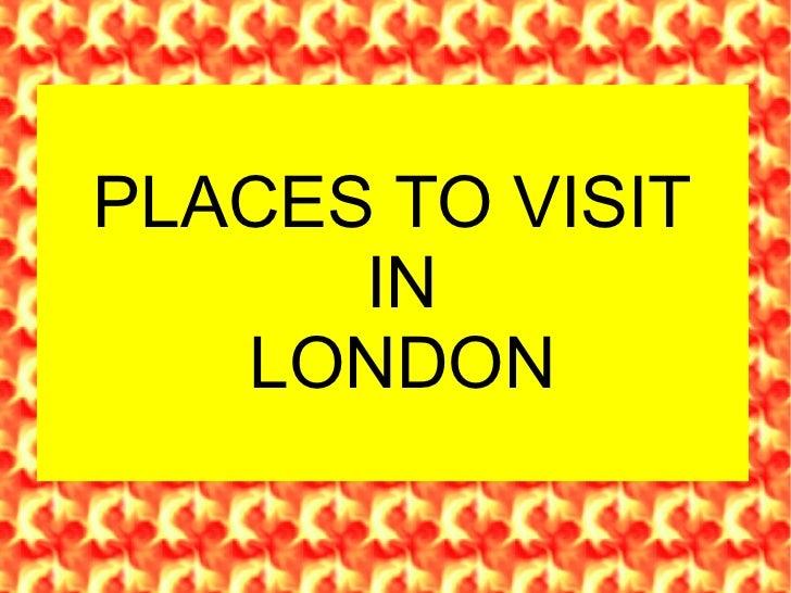 Presentación London