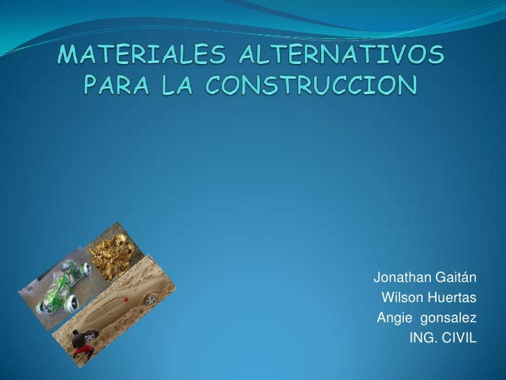 Materiales alternativos para la construccion - Materiales de construccion murcia ...