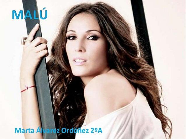 Marta Álvarez Ordóñez 2ºA
