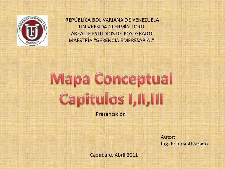"""REPÚBLICA BOLIVARIANA DE VENEZUELA<br />UNIVERSIDAD FERMÍN TORO<br />ÁREA DE ESTUDIOS DE POSTGRADO<br />MAESTRÍA """"GERENCI..."""