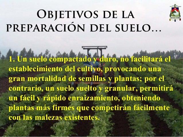 Presentaci n maquinaria agr cola laboreo del suelo - Preparacion de la tierra para sembrar ...