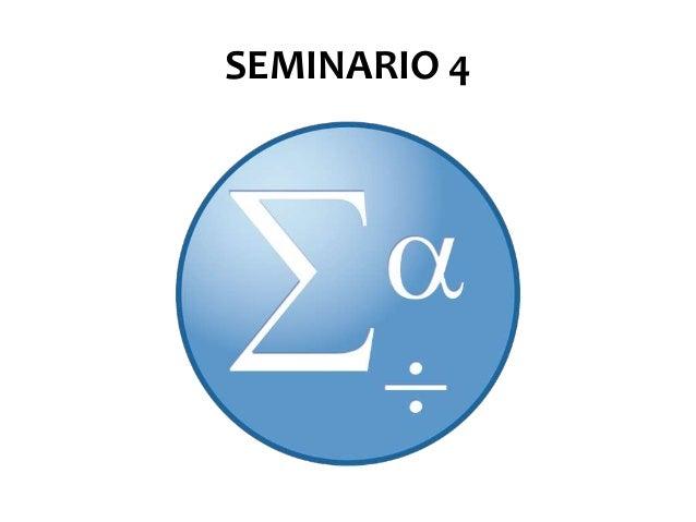 SEMINARIO 4