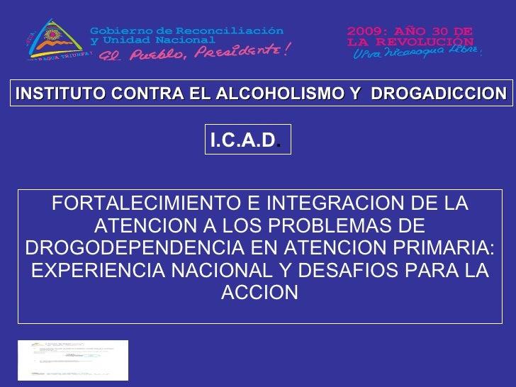 La codificación del alcohol y sus modos