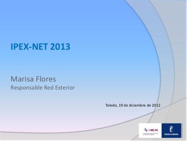Ipex-Net 2012