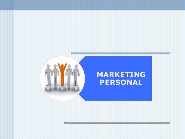 Presentación Marketing Personal
