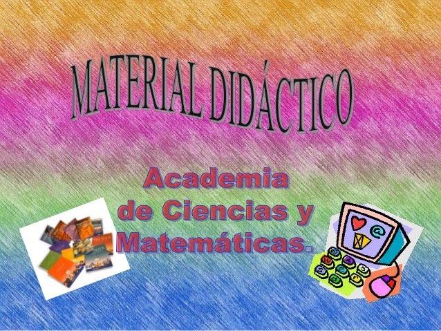 Los materiales didácticos son todos aquellosmedios y recursos que facilitan el proceso deenseñanza-aprendizaje estimula la...