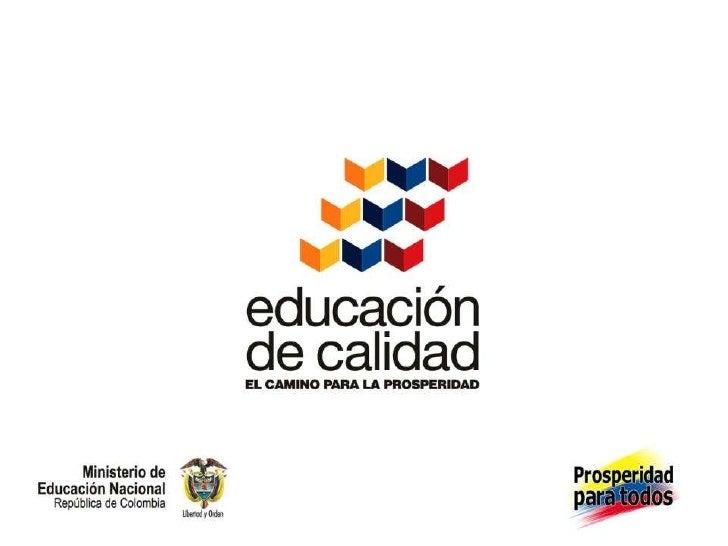 Presentación  materiales educativos programa todos a aprender