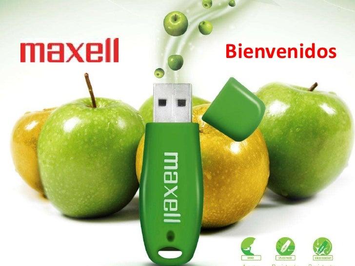 Presentación maxell 2012