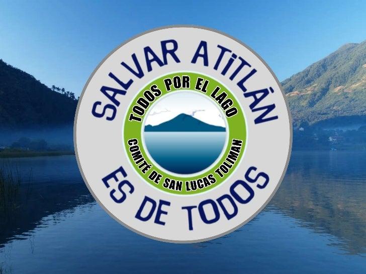 Presentación memoria de labores Comite San Lucas Toliman Todos Por El Lago Atitlan 2010