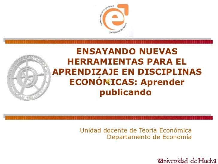 APRENDER PUBLICANDO Presentación memoria pid