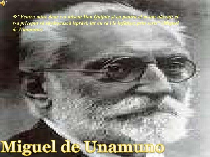 Presentación Miguel Unamuno